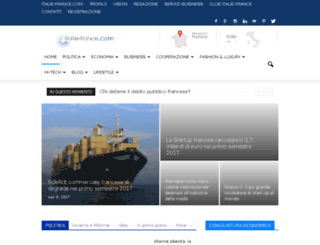 italiefrance.com screenshot