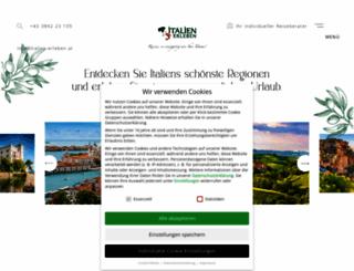 italien-erleben.at screenshot