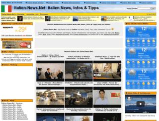 italien-news.net screenshot