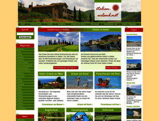 italien-urlaub.net screenshot