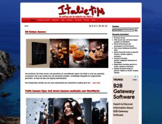 italietips.nl screenshot