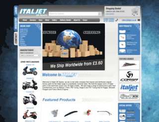 italjet.co.uk screenshot