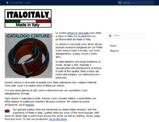 italoitaly.com screenshot