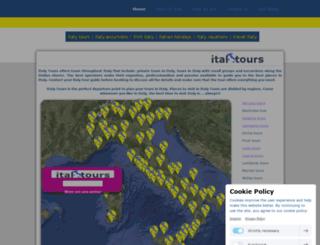 italy-tours.jimdo.com screenshot