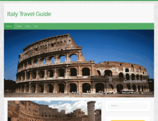 italy-travel-guide.net screenshot