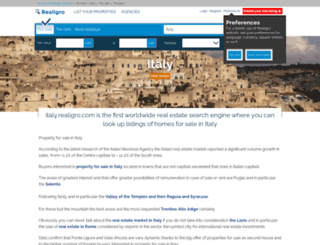 italy.realigro.com screenshot