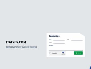italyby.com screenshot