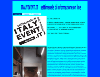 italyevent.it screenshot