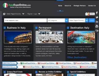italyexpoonline.com screenshot
