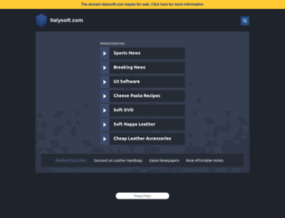 italysoft.com screenshot