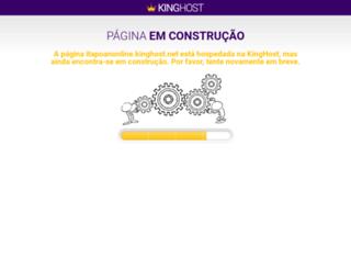 itapoanonline.kinghost.net screenshot