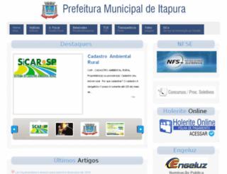 itapurasp.com.br screenshot