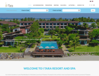 itararesort.com screenshot