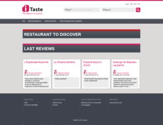 itaste.com screenshot
