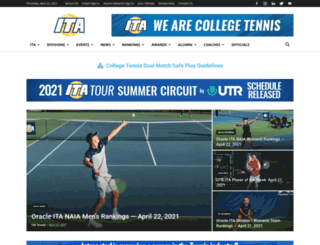 itatennis.com screenshot