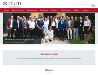 itatti.it screenshot