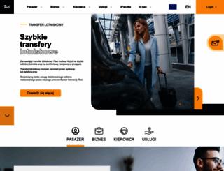 itaxi.pl screenshot