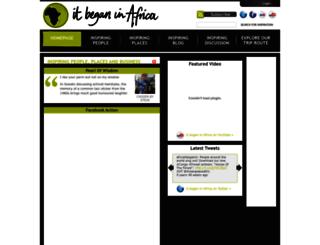 itbeganinafrica.com screenshot