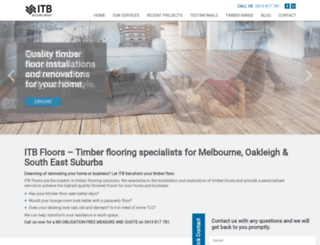 itbfloors.com.au screenshot