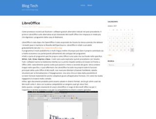 itblogtech.wordpress.com screenshot