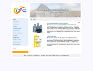 itc.polsl.pl screenshot