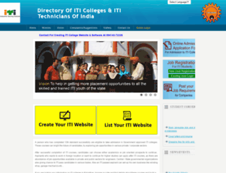 itccolleges.com screenshot
