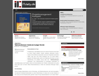 itciety.com screenshot