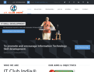 itclubindia.org screenshot