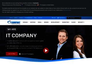 itcompany.com.au screenshot