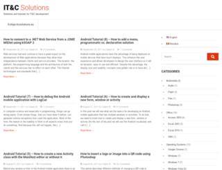itcsolutions.eu screenshot