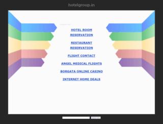 itcwelcom.hotelgroup.in screenshot