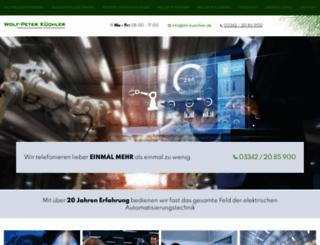 itd-kuechler.de screenshot