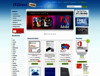 itdirectdeals.com screenshot