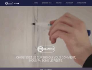 ite-learning.fr screenshot