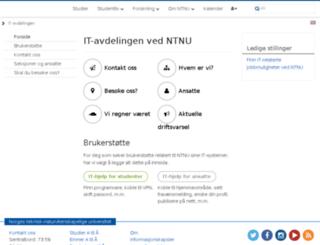 itea.ntnu.no screenshot