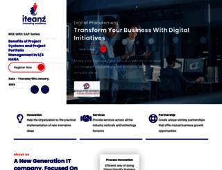 iteanztechnologies.com screenshot