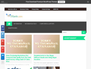 itearth.com screenshot