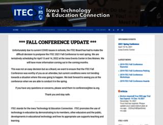 itec-ia.org screenshot
