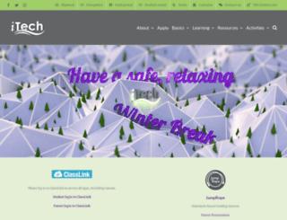 itech.vansd.org screenshot