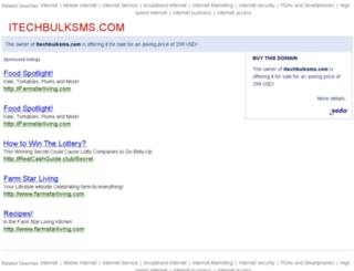 itechbulksms.com screenshot