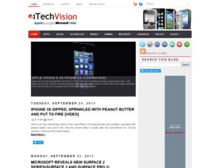 itechvision.blogspot.com screenshot
