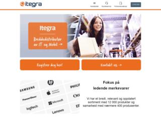 itegra.no screenshot