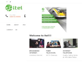 itel.com.np screenshot