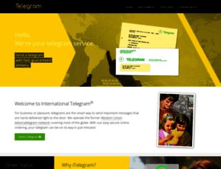 itelegram.com screenshot