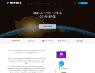 itembase.com screenshot