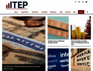 itep.org screenshot