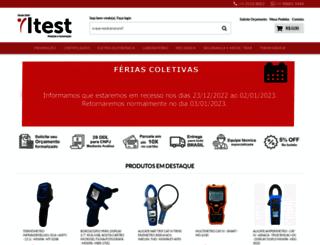 itest.com.br screenshot