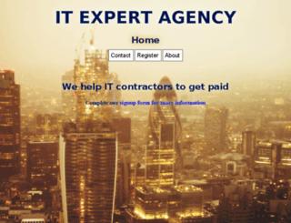itexpertagency.co.uk screenshot
