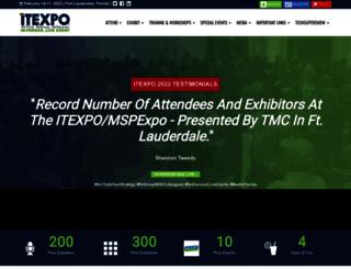 itexpo.tmcnet.com screenshot