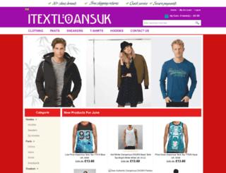 itextloansuk.org.uk screenshot